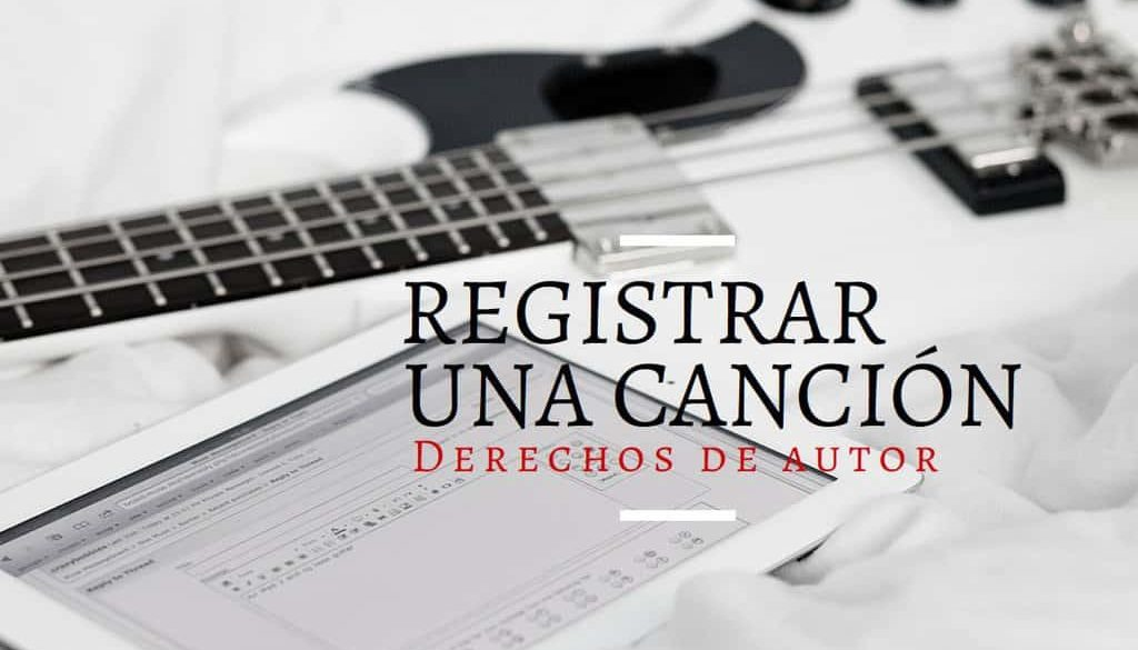registro cancion